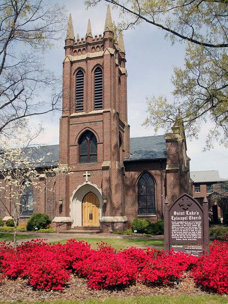 Saint Lukes Episcopal Church in Salisbury, NC.