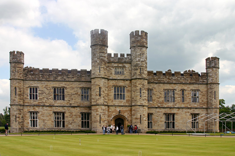 Leeds Castle, outside of London, England.