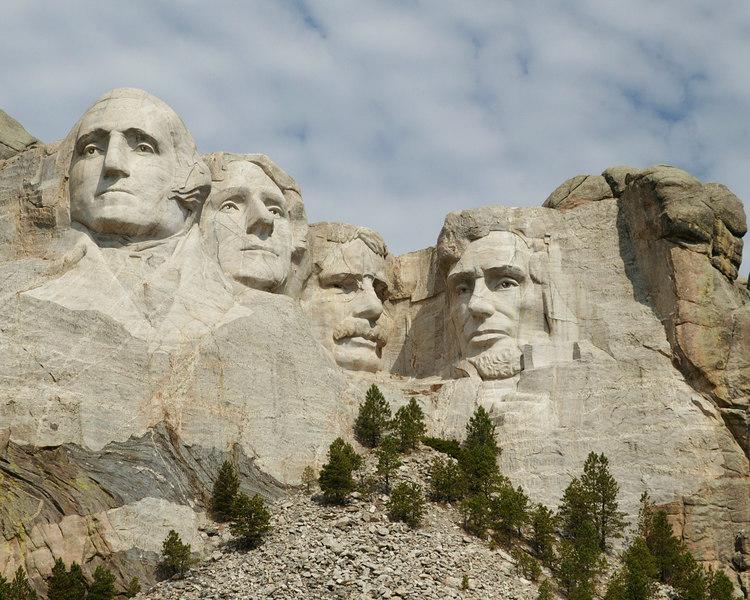 Mount Rushmore Presidents in South Dakota.