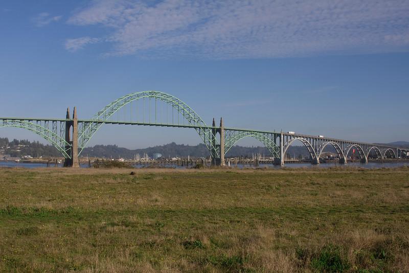 Yaquina Bay Bridge Newport Oregon Nov 2009