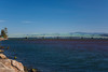 The Northern side of the bridge across the mouth of the Columbia River near Astoria, Oregon from the Washington side. Oct 6, 2012.