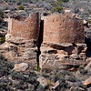 Twin Towers at Hovenweep National Monument. These are some of the best constructed buildings in the southwest. April 2010. Utah.
