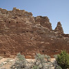 """Walls of a """"Unit House"""", a common construction among the Native Americans living in this area of southeastern Utah at Hovenweep National Monument (Utah). April 2010."""
