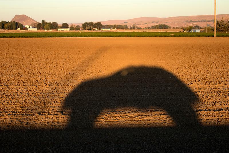 Selfie in eastern Oregon