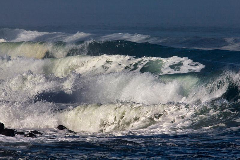 Waves at Seaside, OR