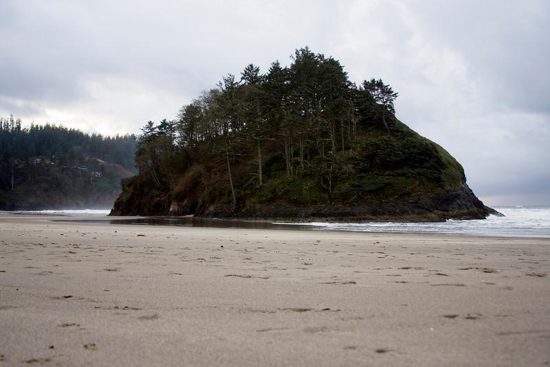 Proposal Rock at Neskowin Oregon. Nov 2009