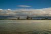 Clouds over the  lower Mokelumne River near Isleton, California, in the Sacramento Delta. Dec 2, 2012.