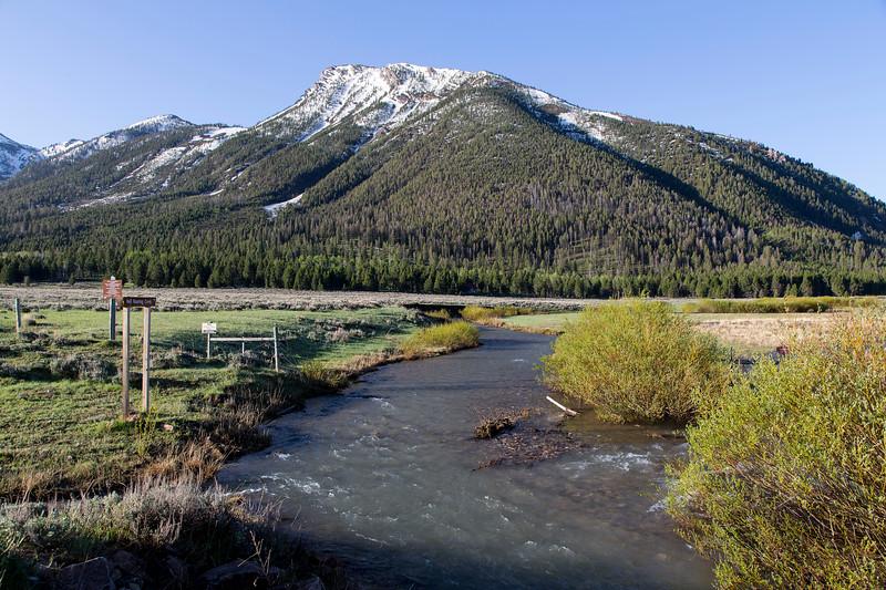 Hell Roaring Creek and Nemesis Mountain, RRLNWR, MT
