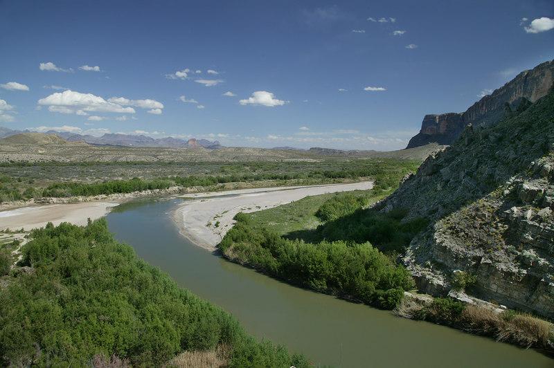 Rio Grande Bend at Big Bend National Park
