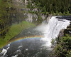 Upper Mesa Falls and Rainbow. Island Park, Idaho July 10, 2008
