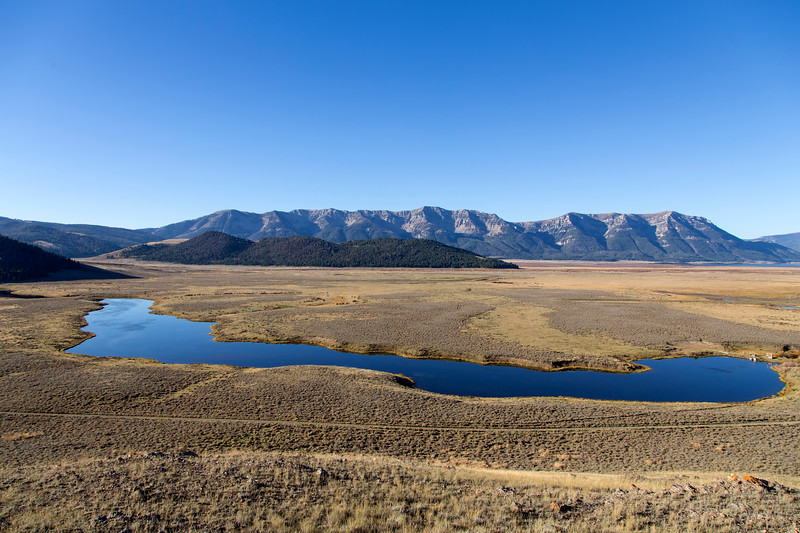 Culver Pond and East Centennial Mountains, RRLNWR, MT
