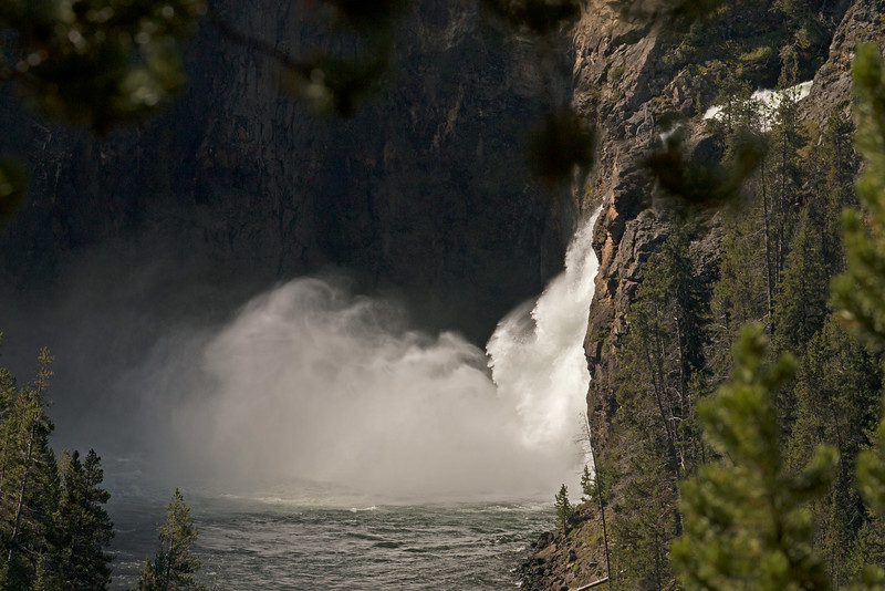 Base of Upper Yellowstone Falls