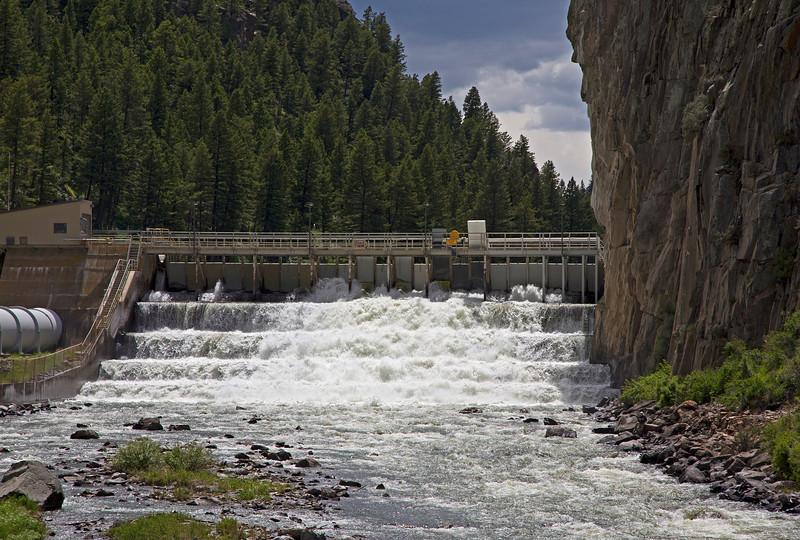 Madison River, Ennis Reservoir Dam