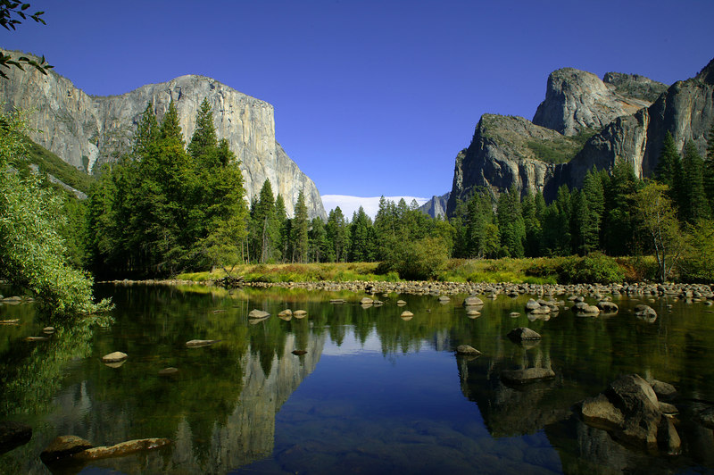 Yosemite Valley from Merced River