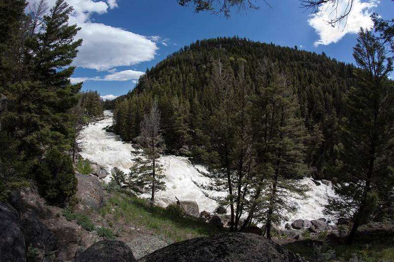 Lamar River rapids, Yellowstone Nat'l Park, WY