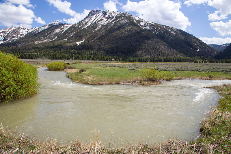 Hell Roaring Creek and Nemesis Mountain, RRLNWR