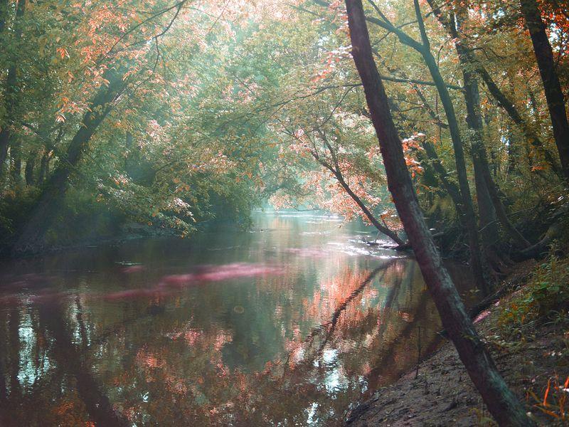 North Carolina Creek, near Salisbury, NC.