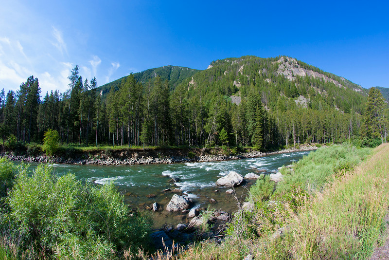 Gallatin River whitewater, MT