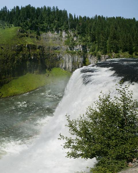 Mesa Falls (16 x 20) near Island Park, ID. July 8, 2007