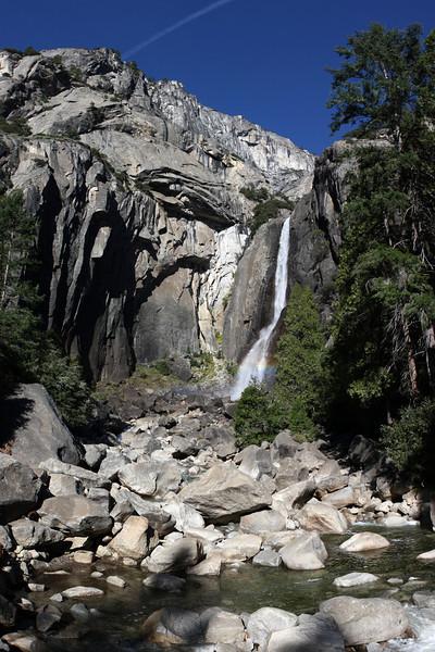 Lower Yosemite Falls. Nov 6, 2008