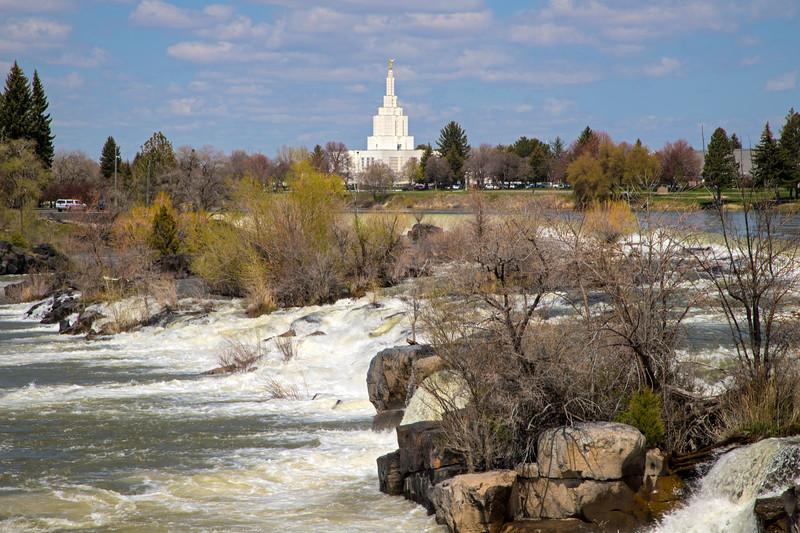 Snake River and Idaho Falls