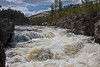 Firehole River rapids, Yellowstone National Park. May 2011