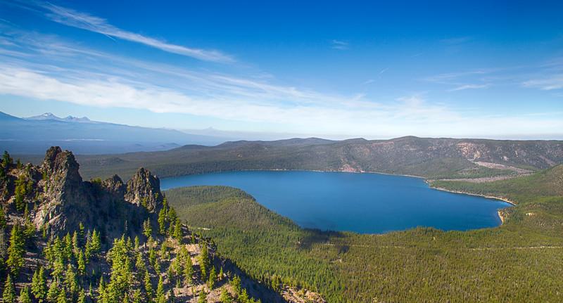 Paulina Lake at Newberry Crater