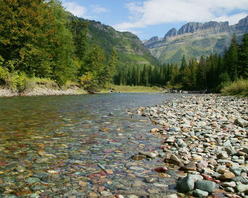 McDonald Creek in Glacier National Park