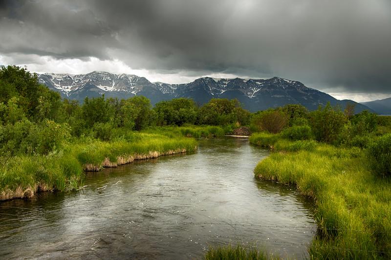 Elks Springs Creek, Red Rock Lakes Natl Wildlife Refuge