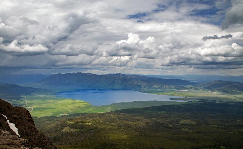 Henry's Lake From Sawtelle Peak, Idaho