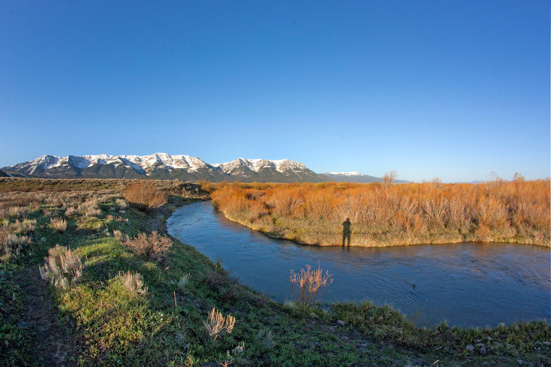 Red Rock Creek and west Centennial Mountains, RRLNWR