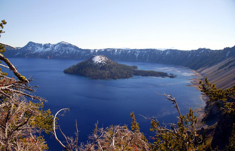 Wizard Island, Crater Lake, OR