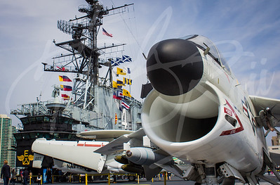 Aboard the USS Midway | San Diego, CA