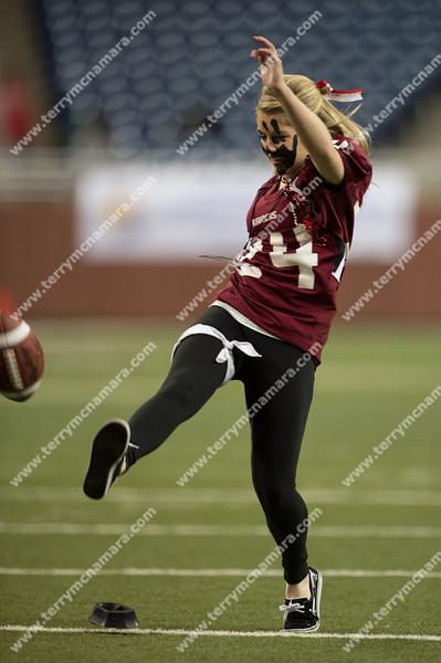 Portland vs. Grand Rapids West Catholic<br /> MHSAA High School Football Finals<br /> Division 5<br /> 2012