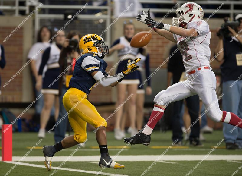 Constantine vs. Ithaca<br /> MHSAA High School Football Finals<br /> Division 6<br /> 2012
