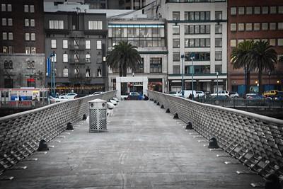 Pier 14 in San Francisco-January