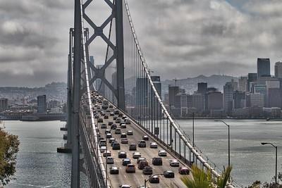San Francisco Bay Bridge from Treasure Island-May