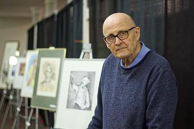 Artist John Francis Plain-November
