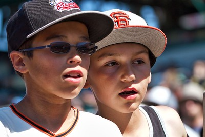 Faces of Young River Cats fans-May