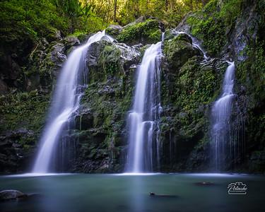 Waikani Falls, Maui