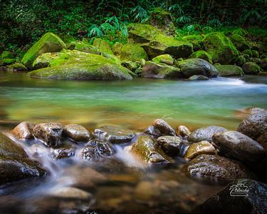 Gentle 'Iao Stream, Wailuku, Maui