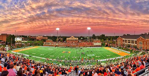 Sunset at Anderson Field