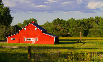 Barn near Main Street