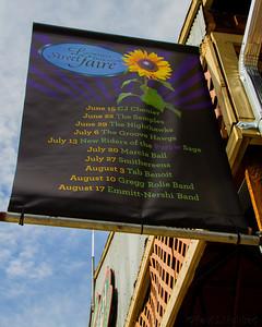 Street Faire Schedule