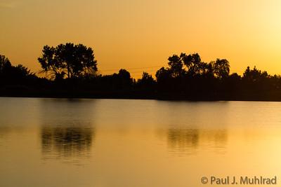 Sunrise at Harper Lake