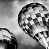 Balloon in B&W