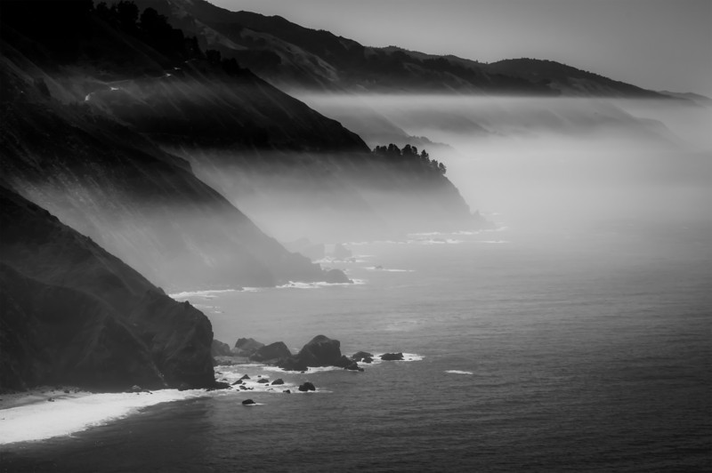 Coast Haze<br /> Big Sur, CA
