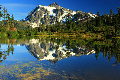 Mount Shuksan Reflected