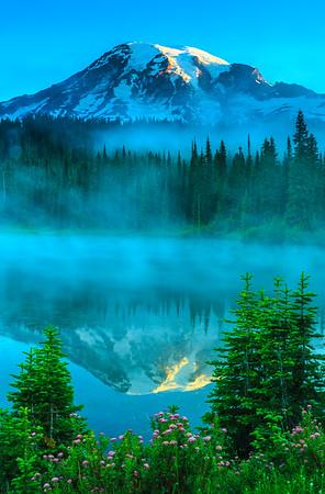 Mount Rainier Reflection