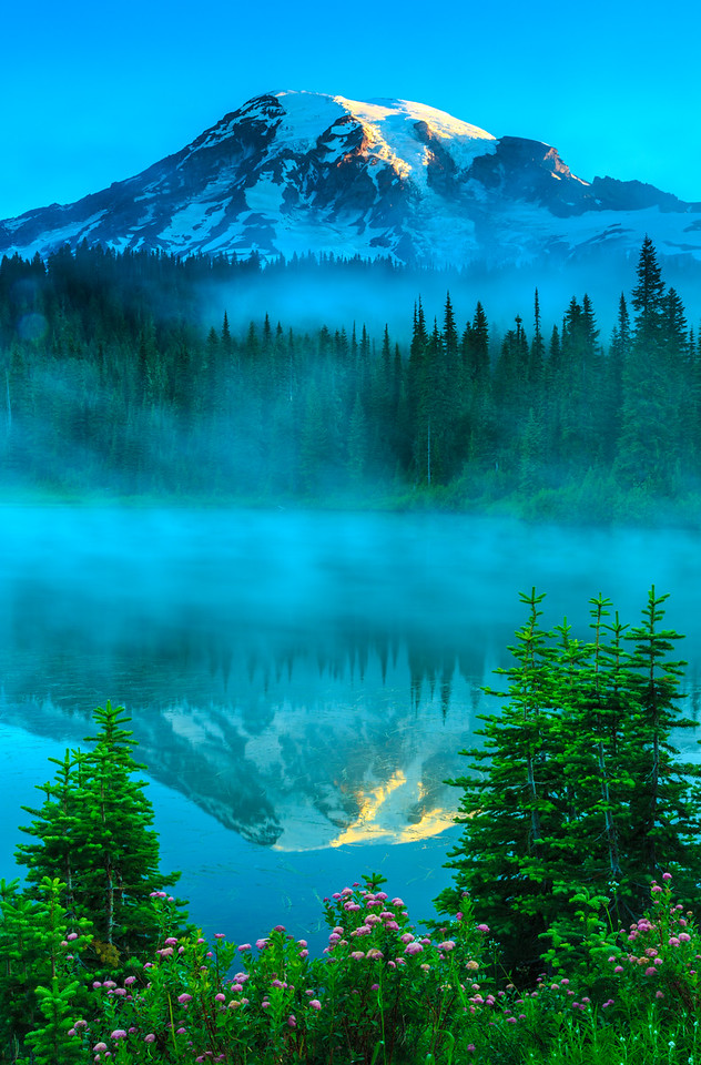 Mount Rainier Reflection